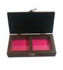 Anisha Creatives Wooden Red Jewellery Box