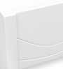 Antonious High Gloss Centre Table in White Finish by HomeTown