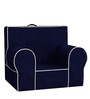 ANYWHERE Kids Sofa with Cushion in Navy Blue