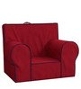 ANYWHERE Kids Sofa with Cushion in Red