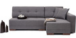 Apollo LHS Sectional Sofa with Grey Colour by Furny