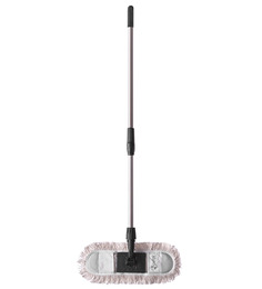 Apex Maxi Black Cotton Mop With Handle