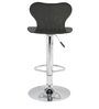Apple Bar Chair In Black Color By The Furniture Store