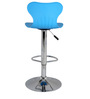 Apple Bar Chair In Blue Color By The Furniture Store