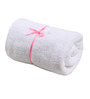 Aransa White Cotton Bath Towel