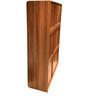 Archer Three Door Wardrobe in Walnut Finish by HomeTown