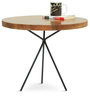 Arezzo Round Coffee Table in Natural Finish by The ArmChair
