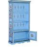 Nilaka - Painted Book Shelf by Mudramark