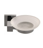 Arrow 31200 Series Metallic Zinc 3 x 4 Inch Round Soap Dish