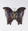 Art Creation Multicolour Metal Butterfly Showpiece