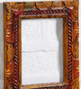 Art of Jodhpur Multicolor Solid Wood  14 x 17 Inch Single Photo Frame