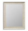 Art Street Beige Synthetic Wood Theresia Cave Wall Mirror