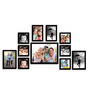 Cayo Collage Photo Frame in Black by CasaCraft
