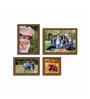 Apolinar Collage Photo Frame in Brown by CasaCraft