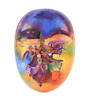 Art Tantra Multicolour Resin with Acrylic Paint Party Night Mask