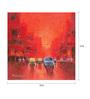 Art Zolo Canvas 12 x 12 Inch First Light Unframed Artwork Painting