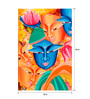 Art Zolo Canvas 18 x 24 Inch Composition on Sree Krishna Unframed Artwork Painting