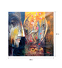 Art Zolo Canvas 20 x 20 Inch Buddha Ii Unframed Artwork Painting