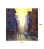 Art Zolo Canvas 24 x 24 Inch Cityscape Iv Unframed Artwork Painting
