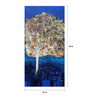 Art Zolo Canvas 24 x 48 Inch Vertical Nature Unframed Artwork Painting