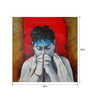 Art Zolo Canvas 28 x 28 Inch Aastha Ii Unframed Artwork Painting