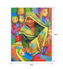 Art Zolo Canvas 30 x 48 Inch Puppet Seller Unframed Artwork Painting