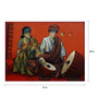 Art Zolo Canvas 57 x 44 Inch Musician Couple Ii Unframed Artwork Painting