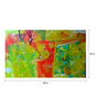 Art Zolo Canvas 60 x 36 Inch Celebration Enthrall Unframed Artwork Painting