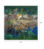 Art Zolo Canvas 60 x 60 Inch Time & Space 2 Unframed Artwork Painting