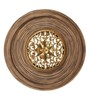 Artelier Multicolour Wooden Round Wall Panel