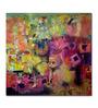 Artflute Canvas Urban Phulkari Framed Art Print