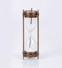 Artshai Brown Brass Hourglass