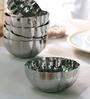 Arttdinox Mushroom Colletion Stainless Steel 150 ML Bowl - Set of 6
