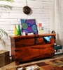 Kellogg Trunk Box in Honey Oak Finish by Amberville