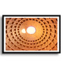 Asian Artisans MDF & Paper 22 x 2.5 x 16 Inch The Dome of Pantheon Framed Digital Art Print