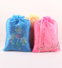Asian Artisans Organza Travel Accessory Pouch - Set of 3