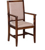 Morton Arm Chair in Provincial Teak Finish by Woodsworth