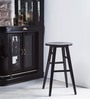 Harrington Bar Stool in Espresso Walnut Finish by Woodsworth