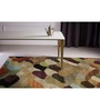Asterlane Multicolour Woolen 48 x 36 Inch Abstract Rectangular Area Rug