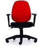 Astro Medium Back Chair in Black & Red Colour by Durian
