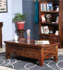 Volga Coffee Table in Provincial Teak Finish by Woodsworth