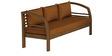 Athena Sofa Set in Walnut Finish by CasaTeak