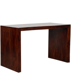 Athena Study Table in Provincial Teak with Melamine Finish by Woodsworth