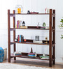 Maritsa Display Unit in Provincial Teak Finish by Woodsworth