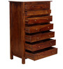 Maritsa Chest with seven Drawer in Provincial Teak Finish by Woodsworth