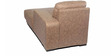 Aura LHS Sofa Set with Two Pouffes in Light Brown Colour by Home City