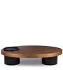 Aurora Coffee Table in Brown Colour by HomeHQ