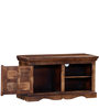 Avagraha Entertainment Unit in Provincial Teak Finish by Mudramark