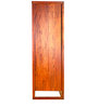 Avana Two Door Solid Wood Wardrobe in Medium Brown Colour by Godrej Interio