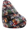 Avengers Characters Filled Bean Bag by Orka